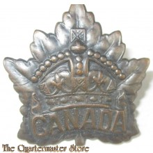 WW1 Canadian General Service Cap Badge