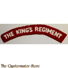 Shoulder flash the King's Regiment