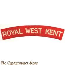 Shoulder flash Royal West Kent