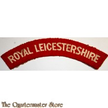 Shoulder flash Royal Leicestershire Regiment