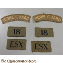 Formation patches 18th Essex Bn	(Blackheath)