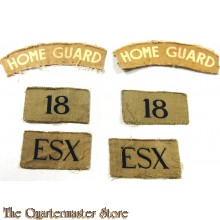 Formation patches Home Guard 18th Essex Bn Blackheath (canvas)