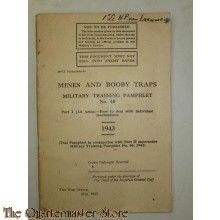 British manual Mines and boobytraps  book 1943 (Explosieven handboek 1943)
