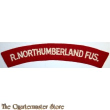 Shoulder flash The Royal Northumberland Fusiliers