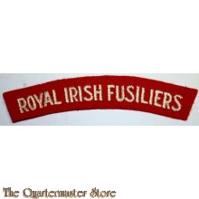 Shoulder flash Royal Irish Fusiliers