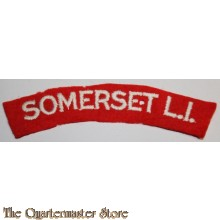 Shoulder flash Somerset Light Infantry (Prince Albert's)