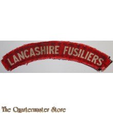 Shoulder flash Lancashire Fusiliers (canvas)