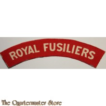 Shoulder flash Royal Fusiliers (canvas)