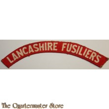 Shoulder flash South Lancashire Fusiliers (canvas)
