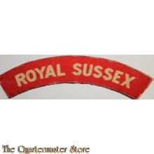 Shoulder flash Royal Sussex (canvas)