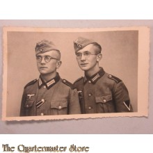 Studio portret (Mil Postcard) WH brothers early war picture
