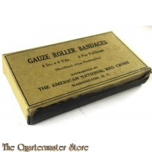 Gauze roller bandages 2 In x 6 Yds 3 per package