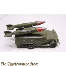 Die cast russian military truck with 2 rockets