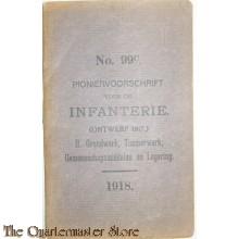 Voorschrift no 99c Pionier voorschrift voor de Infanterie 1918