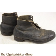 "Boot, Ankle, Militia, G.S. or ""ammunition boot"" WW2"