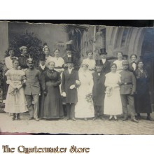 AnsichtsKarte (Mil. Postcard) photo 1912 familyportret