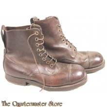 Ned officiers schoenen 1946 Ned Indie (Combat boots officer Dutch East Indies 1946)