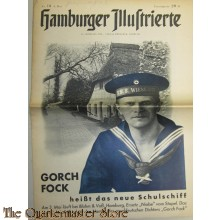 Hamburger Illustrierte no 18 6 mai 1933 Gorch Foch
