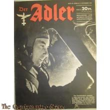 Zeitschrift Der Adler heft 23  9 Nov 1943 (Magazine Der Adler no 23  9  Nov 1943)