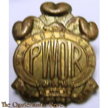 Cap badge The Princess of Wales own Regiment (MG)