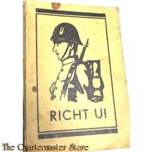 Richt U ! HAndboekje voor den Katholieken soldaat 1935