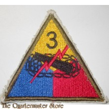 Mouwembleem 3e Armored Division (sleeve badge 3rd Armoured Division)