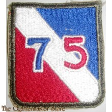 "Mouw embleem 75th Infantry Division ""Make Ready"" Division"