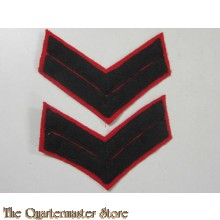 Ranks Corporal Regina Rifles/Queen own Rifles