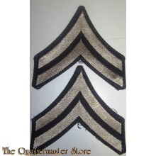 Mouwrangen Corporal rank (set) (Sleeve chevrons Corporal rank (set))