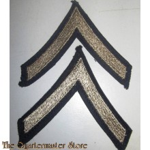 Mouwrangen Private 1st class rank (set) (Sleeve chevrons Private 1st class rank (set))
