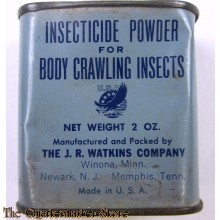 Inscecticide powder for crawling insects