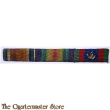 Ribbon bar war medal 1914-18 Victory medal Candian Voluntair medal