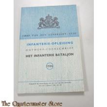 Ontwerp voorschrift No 1526 Infanterie Battalion