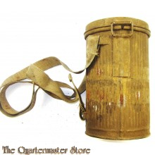 1919 ASR gas mask canister with all straps in original colour