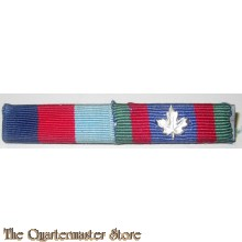 Ribbon bar 1939-1945 Star and Canadian Vulonteer medal