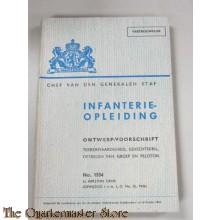 Ontwerp voorschrift 1534 Infanterie Opleiding Terrein vaardiheid Gevechtsdrill