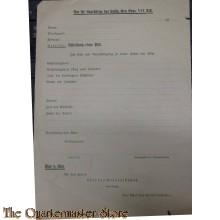 Genehmigung zu einer Fahrt mit Pkw 1943 (Permission form driving military car 1943)