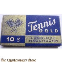 """Rasier klingen """"Tennis Gold"""" (Razor blades Tennis Gold)"""