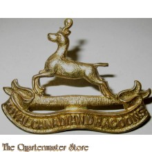 Cap badge Royal Canadian Dragoons, 1st Canadian Infantry Division