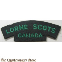 Shoulder title Lorne Scots Regiment Canada