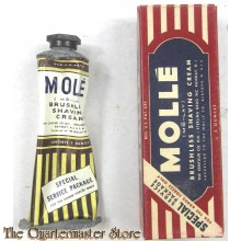 WWII US Armed Forces Issue Molle Shaving Cream (scheercreme)