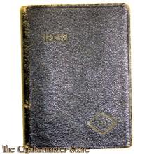 Taschenkalender 1938