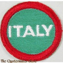 Italian Prisoner of War Identification Patch