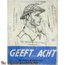 'Geeft... acht! Reveille, appèl, voor de dokter, instructie, inspectie, taptoe' (1947)
