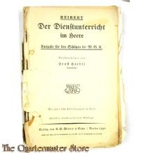 Der Dienstunterricht im Heer 1940 MGK