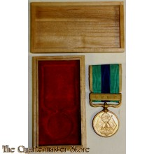 1904/1905 War medal Russo-Japanese War (cased)
