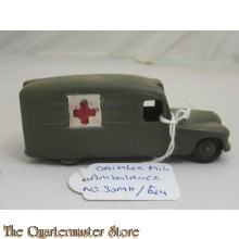 No 624 Daimler Military Ambulance