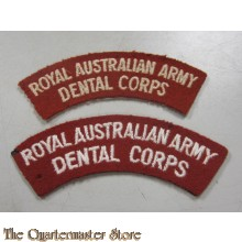 Shoulder flashes  Royal Australian Dental Corps post 1948