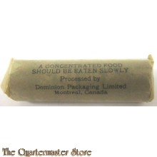 WW2 Concentrated Food tablets from ration CANADA