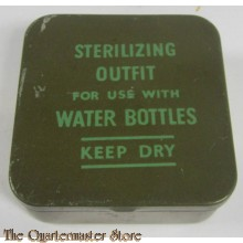 WW2 Water Sterilizing Outfit Tin